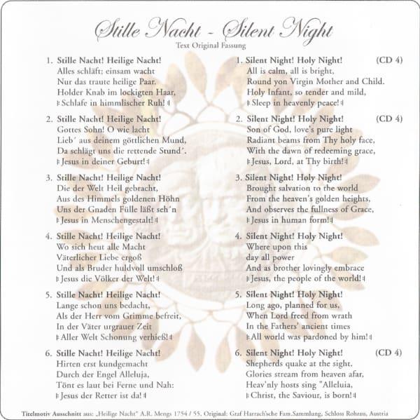 """Erstmals """"Stille Nacht"""" in 15 Sprachen und 6 strophiger Original-Fassung . . . 4"""